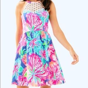 Adorable size 4 Lily Pulitzer tropical dress 👗